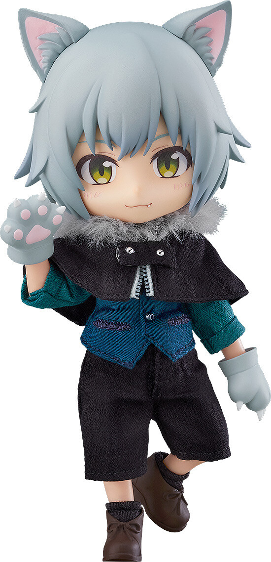 PRE-ORDER Good Smile Nendoroid Doll Wolf: Ash