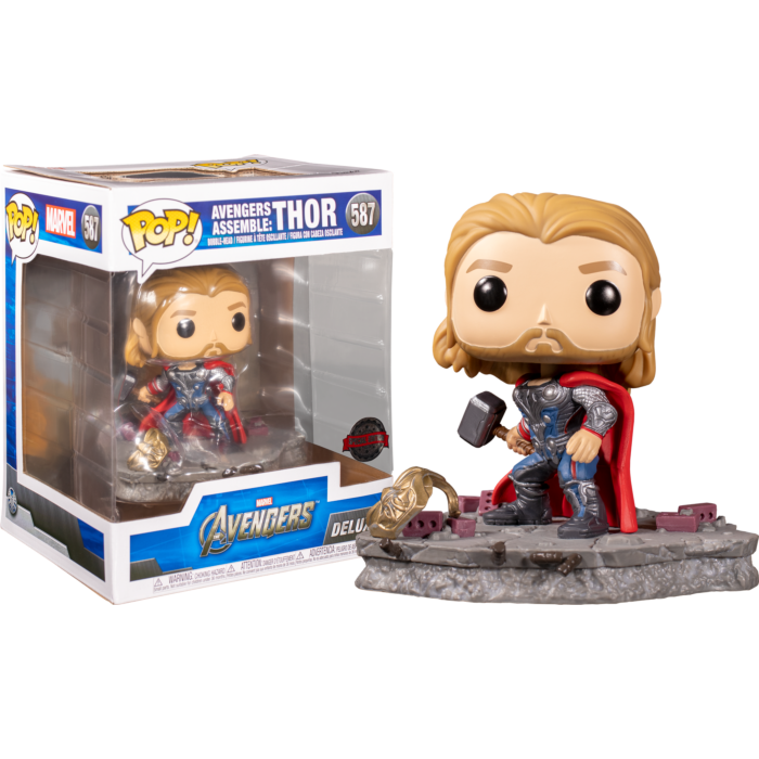 Avengers Assemble Thor POP! Deluxe