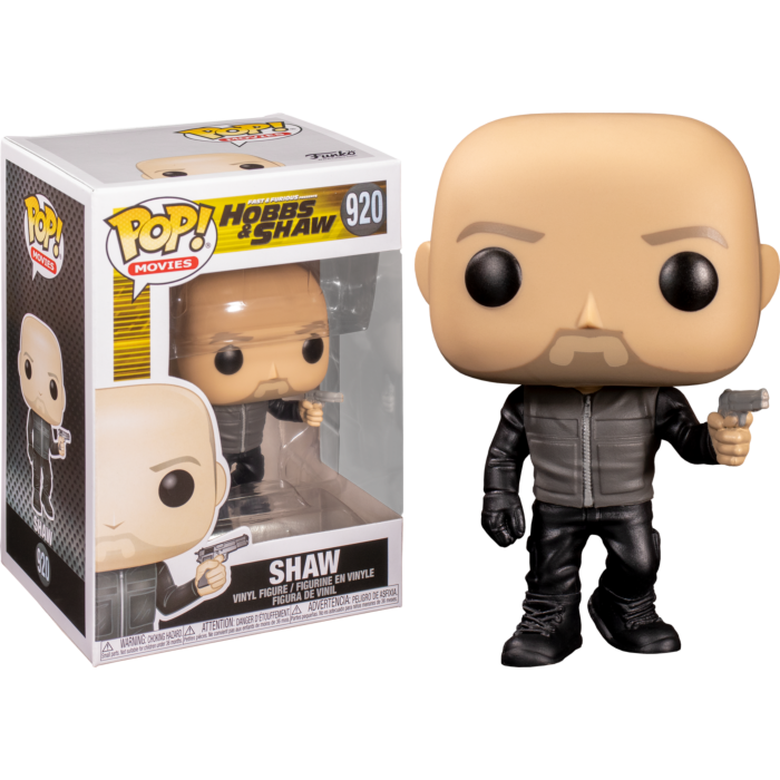 Fast & Furious Presents: Hobbs & Shaw - Shaw Pop! Vinyl Figure