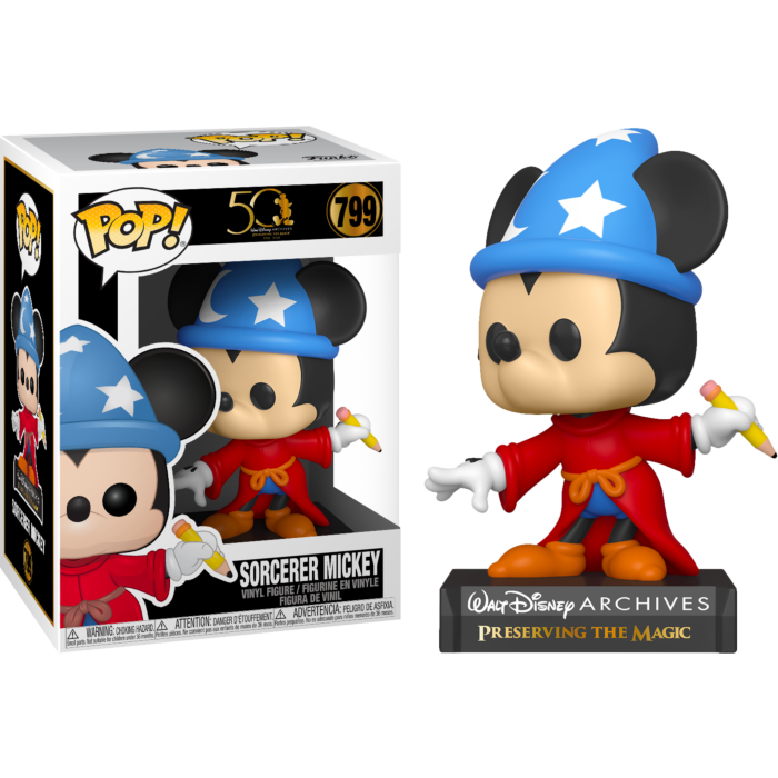 Disney Archives Sorcerer Mickey Pop! Vinyl Figure