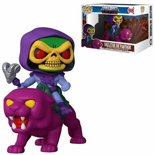 Funko Masters of the Universe Skeletor on Panthor Pop! Ride