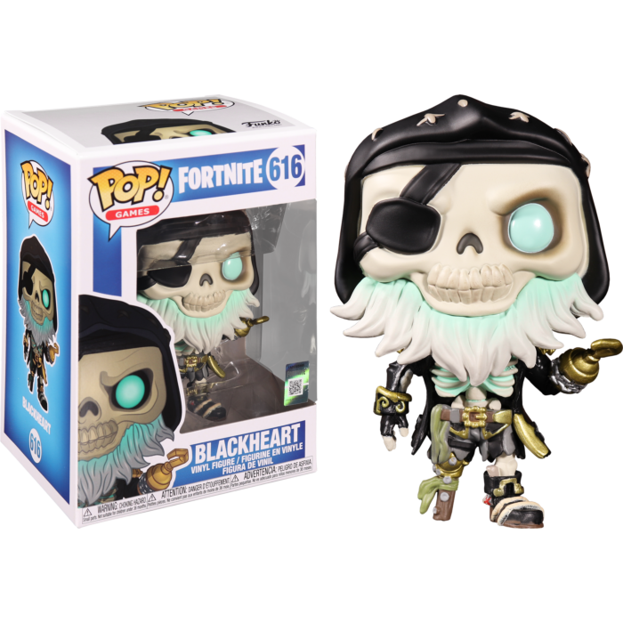 Funko Fortnite Blackheart Pop! Vinyl Figure