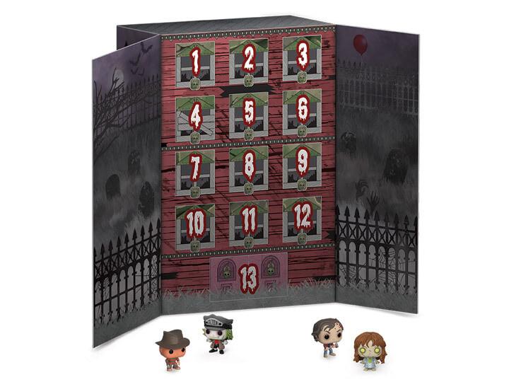 Funko Horror - 13-Day Spooky Pocket Pop! Vinyl Halloween Countdown Calendar