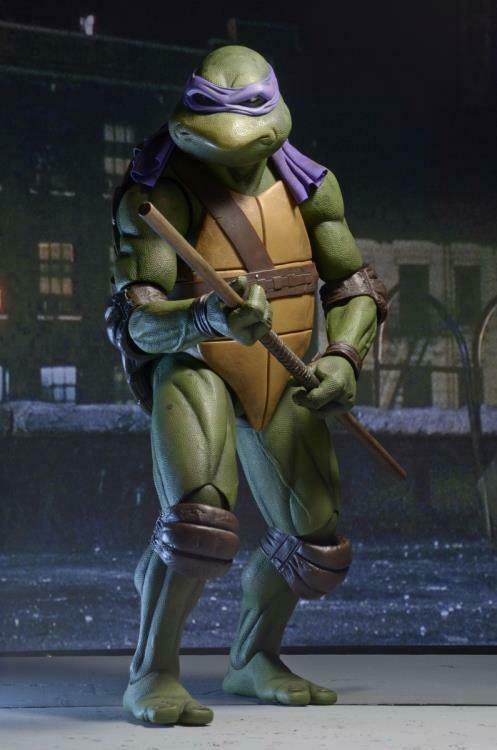 PRE-ORDER TMNT [1990 Movie] - ¼ Scale Figure - Donatello (RESTOCK 2021)