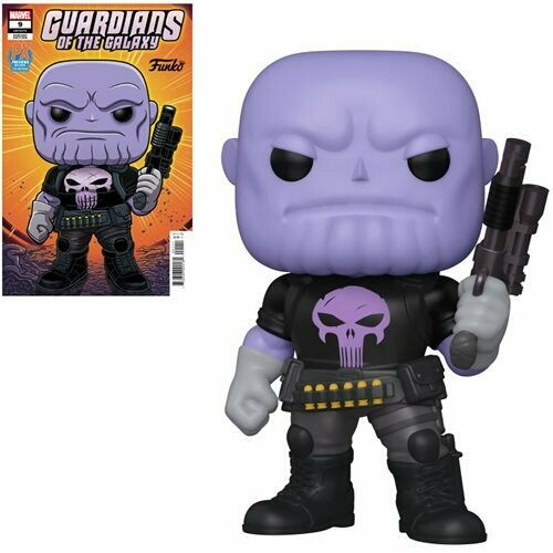 PRE-ORDER Marvel Heroes Earth-18138 6-Inch Pop! Vinyl Figure and Guardians of the Galaxy #9 Variant Comic - Previews Exclusive