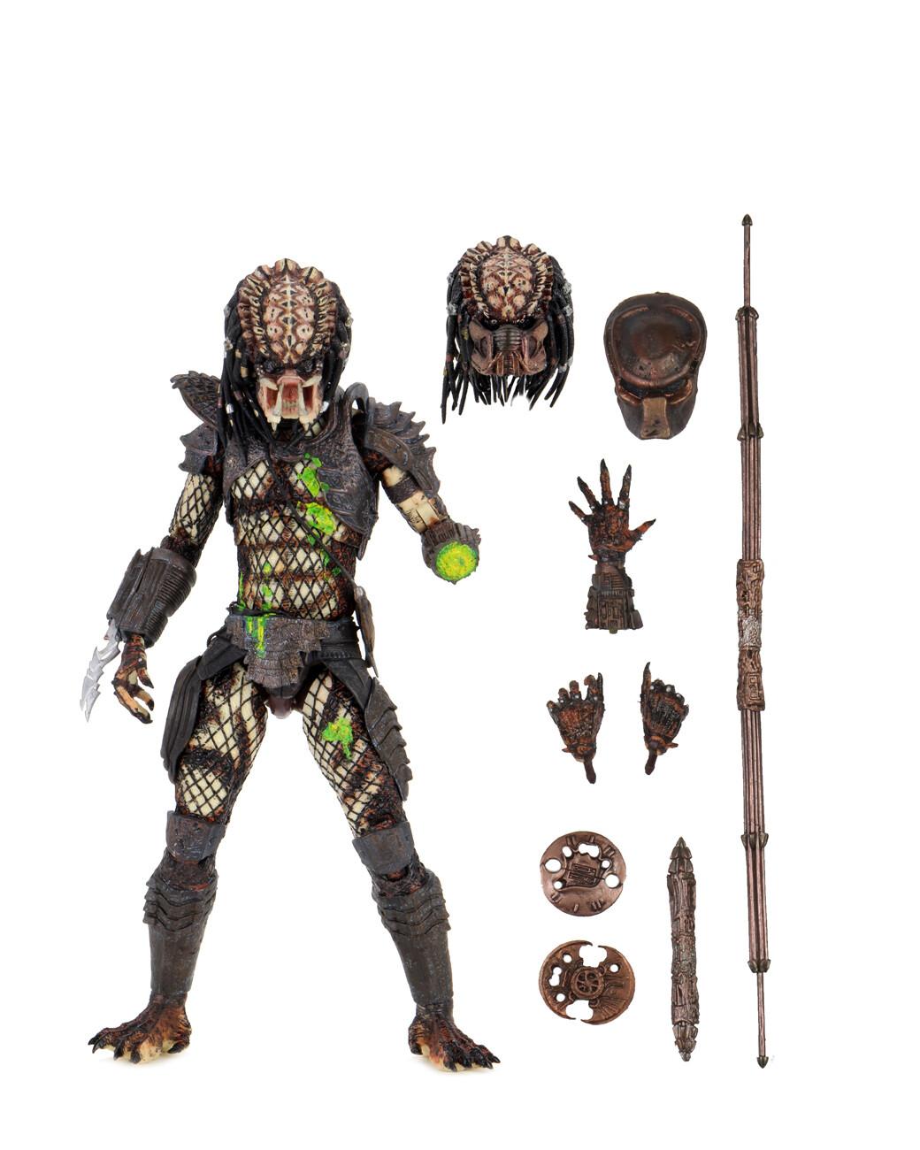 "PRE-ORDER Predator - 7"" Scale Action Figure - Ultimate Battle-Damaged City Hunter"