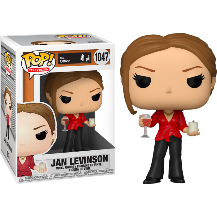 The Office - Jan Levinson with Wine & Candle Pop! Vinyl Figure