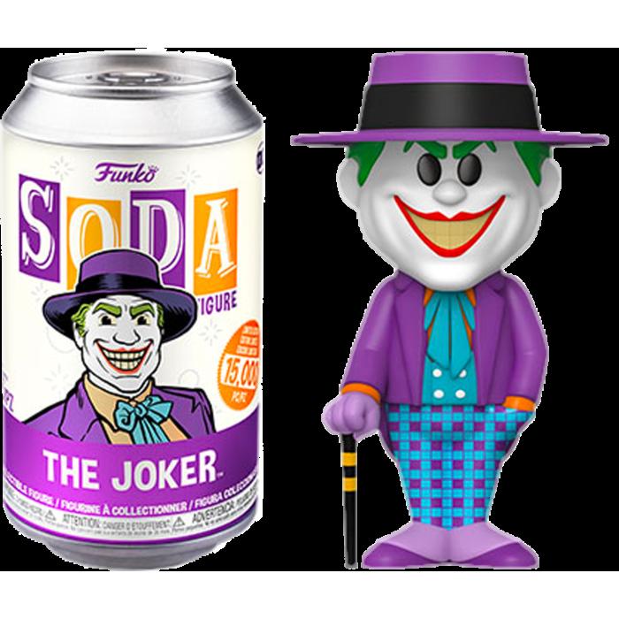 Funko Batman 1989 - The Joker Vinyl Soda Figure in Collector Can