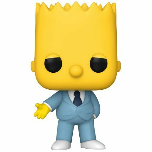 Funko Simpsons Mafia Bart Pop! Vinyl Figure