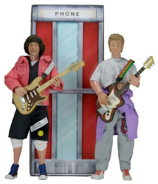 Neca Bill & Ted's Excellent Adventure Two Pack Action Figure