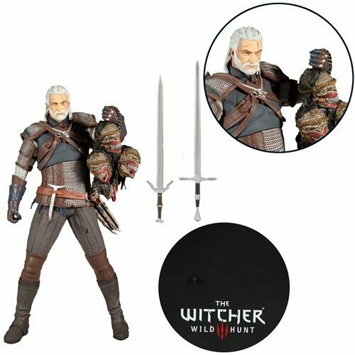 Mcfarlane The Witcher 3: The Wild Hunt Geralt of Rivia 12-Inch Action Figure