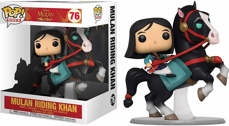 Funko Mulan on Khan Pop! Vinyl Ride