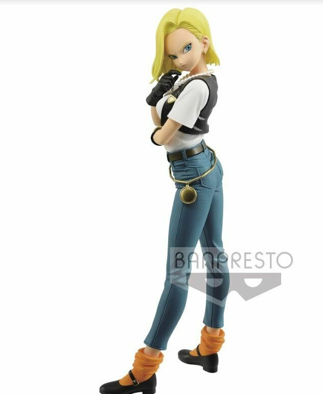 PRE-ORDER Dragon Ball Z Glitter Glamours Android 18 Ver. A