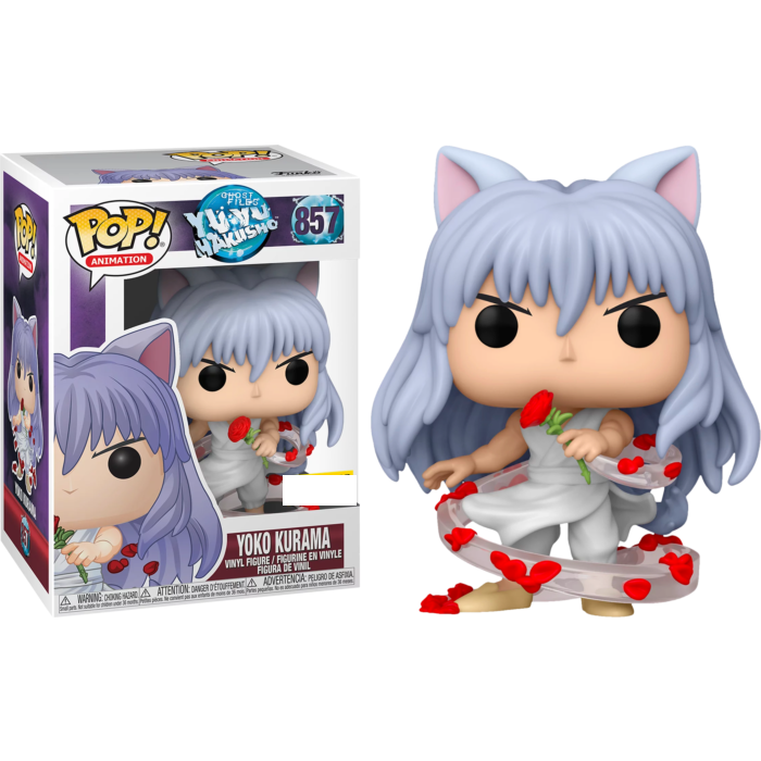Yu Yu Hakusho - Yoko Kurama Exclusive Pop! Vinyl Figure