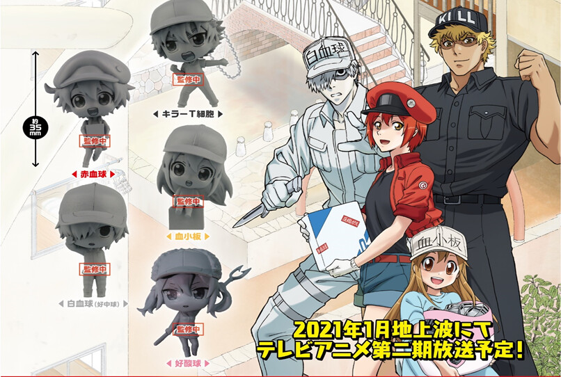 PRE-ORDER Good Smile Cells at Work! Capsule Collection Figure (6pcs/box)