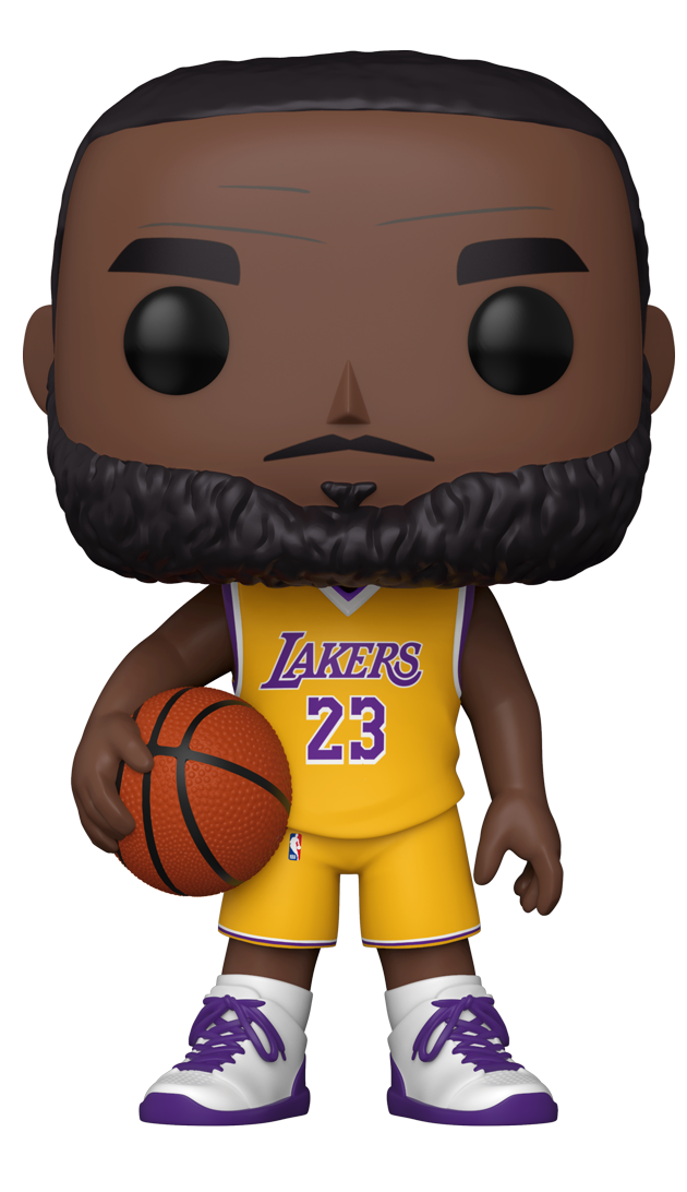 "NBA - Los Angeles Lakers Lebron James Yellow Uniform 10"" Walmart Exclusive Pop! Vinyl Figure"