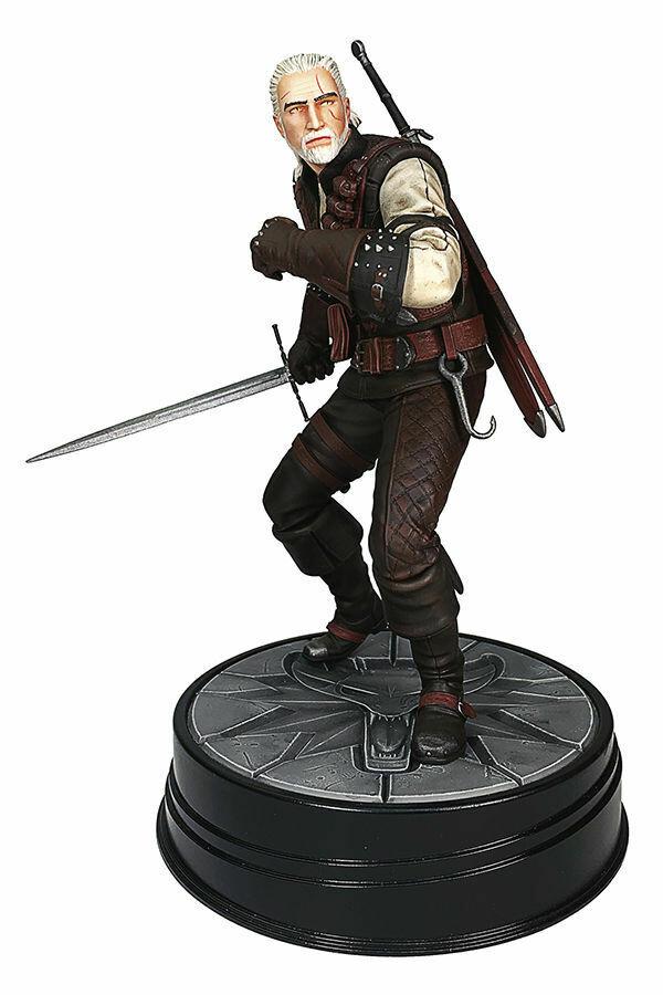 PRE-ORDER Dark Horse The Witcher 3 - Wild Hunt: Geralt Manticore Figure