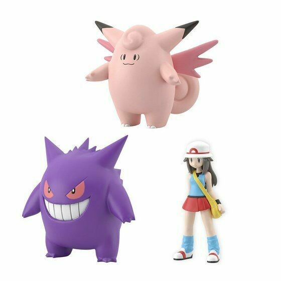 PRE-ORDERRG POKEMON SCALE WORLD KANTO LEAF, CLEFFABLE & GREEN