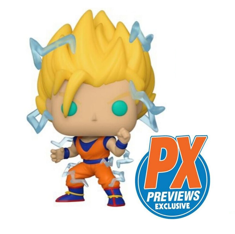 PRE-ORDER Dragon Ball Z Super Saiyan 2 Goku Pop! Vinyl Figure - Previews Exclusive