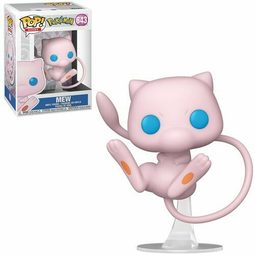 PRE-ORDER Pokemon Mew Pop! Vinyl Figure