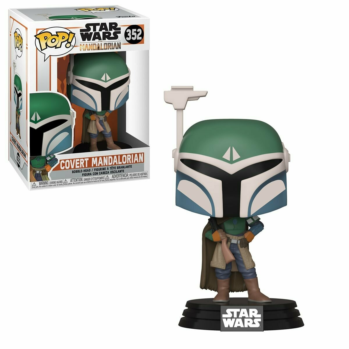 Funko Star Wars: The Mandalorian Covert Mandalorian Pop! Vinyl Figure
