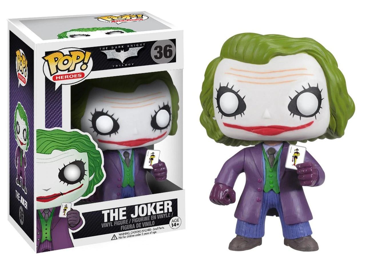 Funko Batman: The Dark Knight - The Joker Pop! Vinyl Figure