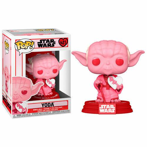 Funko Star Wars Valentine - Yoda with Heart Pop! Vinyl Figure