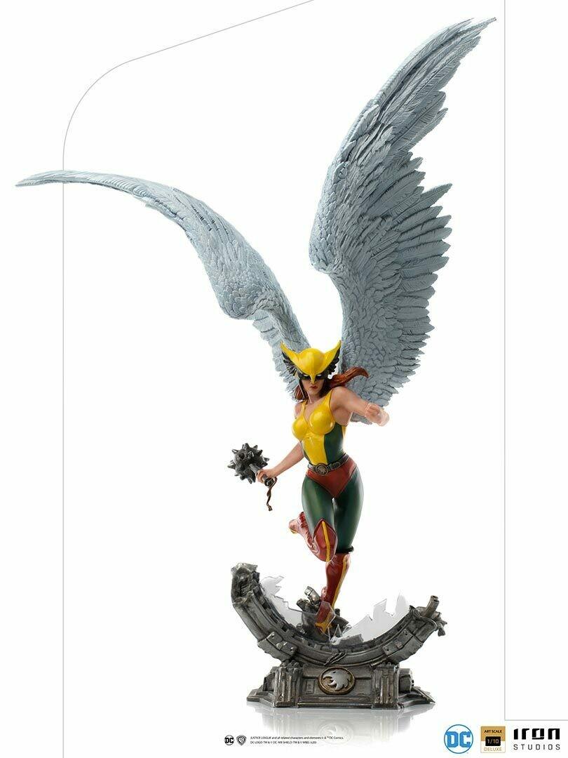 PRE-ORDER Iron Studios Hawkgirl Deluxe Art Scale 1/10 - DC Comics