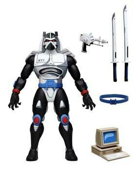 """PRE-ORDER TMNT (Cartoon) – 7"""" Scale Action Figure – Ultimate Chrome Dome"""