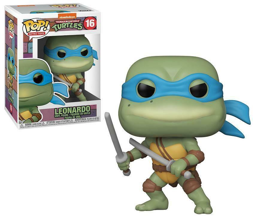 Funko Teenage Mutant Ninja Turtles - Leonardo Pop! Vinyl Figure