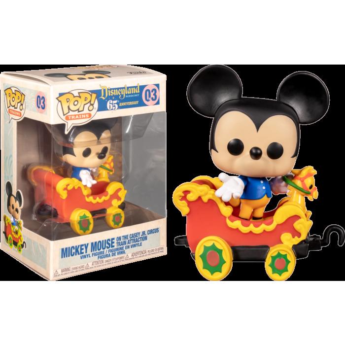 Funko Disney - Casey Jr. Circus Train Ride Mickey Mouse in Car Pop! Vinyl Figure