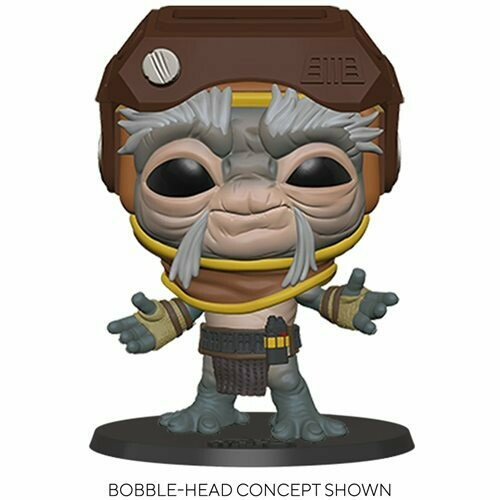 Funko Star Wars: The Rise of Skywalker Babu Frik 10-Inch Pop! Vinyl Figure