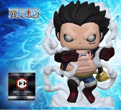 PRE-ORDER Funko One Piece Luffy Gear 4th Pop! Vinyl Figure - Chalice Exclusive