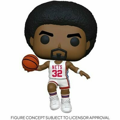 PRE-ORDER NBA: Legends Julius Erving (Nets Home) Pop! Vinyl Figure