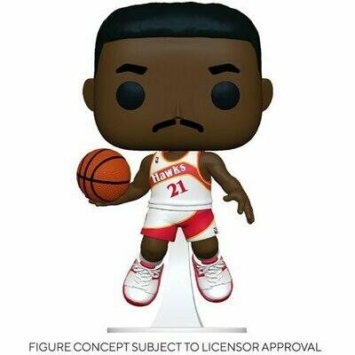PRE-ORDER NBA: Legends Dominique Wilkins (Hawks Home) Pop! Vinyl Figure