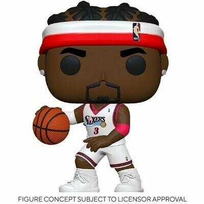 PRE-ORDER NBA: Legends Allen Iverson (Sixers Home) Pop! Vinyl Figure