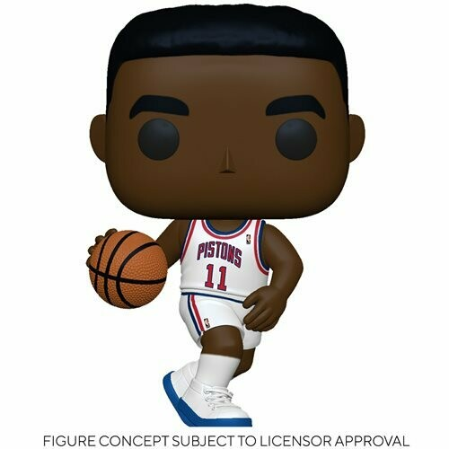 Funko NBA: Legends Isiah Thomas (Pistons Home) Pop! Vinyl Figure