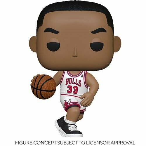 PRE-ORDER NBA: Legends Scottie Pippen (Bulls Home) Pop! Vinyl Figure - 2nd Batch