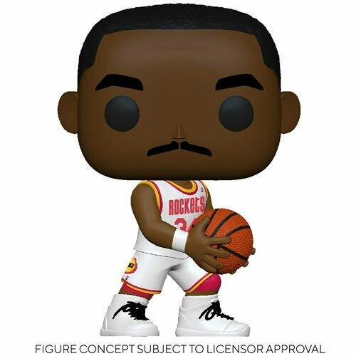 Funko NBA: Legends Hakeem Olajuwon (Rockets Home) Pop! Vinyl Figure