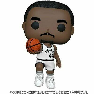 PRE-ORDER NBA: Legends George Gervin (Spurs Home) Pop! Vinyl Figure