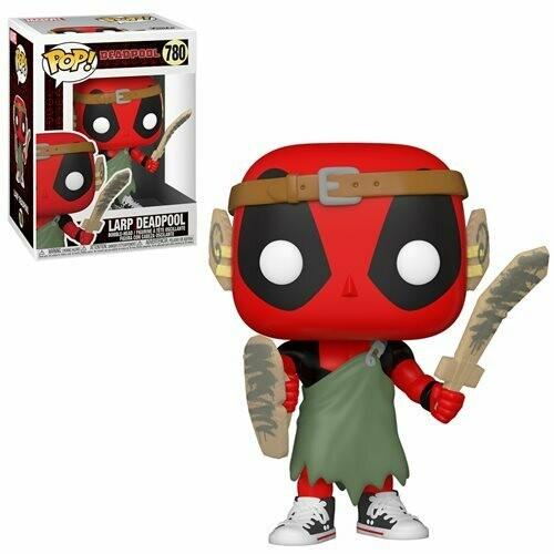 Deadpool 30th Anniversary LARP Deadpool Pop! Vinyl Figure