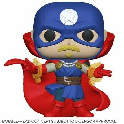 PRE-ORDER Marvel: Infinity Warps Soldier Supreme Pop! Vinyl Figure
