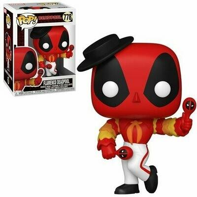 PRE-ORDER Deadpool 30th Anniversary Flamenco Deadpool Pop! Vinyl Figure