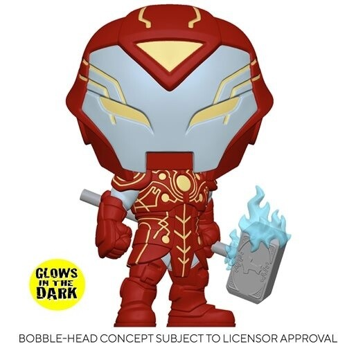 PRE-ORDER Marvel: Infinity Warps Iron Hammer Glow in the Dark Exclusive Pop! Vinyl Figure