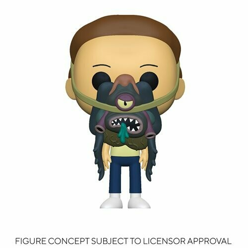 PRE-ORDER Rick and Morty Morty with Glorzo Pop! Vinyl Figure