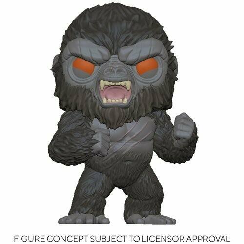 PRE-ORDER Godzilla vs. Kong Battle-Ready Kong Pop! Vinyl Figure - 2nd batch