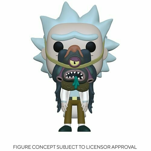PRE-ORDER Rick and Morty Rick with Glorzo Pop! Vinyl Figure