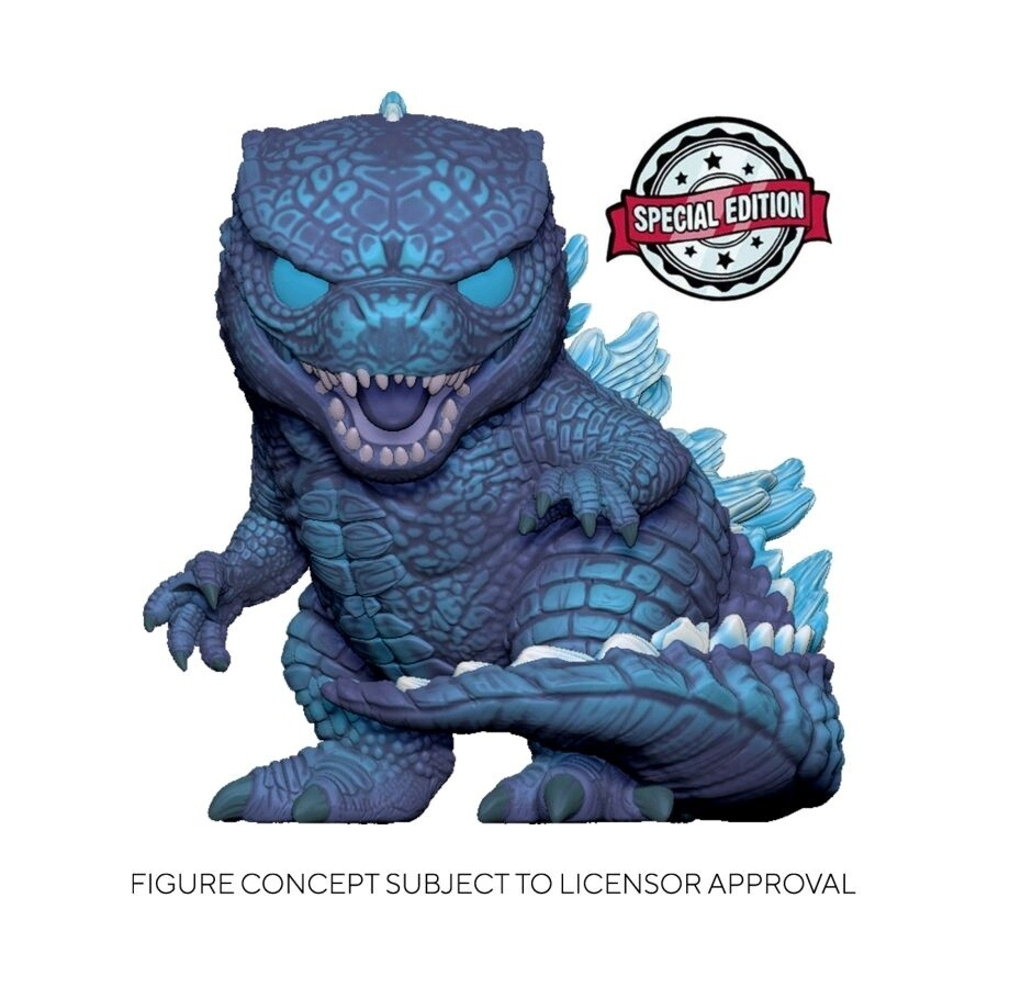 PRE-ORDER Godzilla vs. Kong Godzilla City Lights Special Edition Exclusive 10-Inch Pop! Vinyl Figure