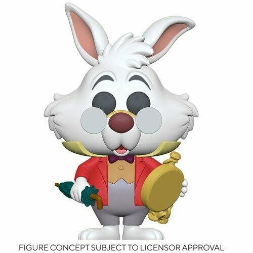 PRE-ORDER Alice in Wonderland 70th Anniversary White Rabbit with Watch Pop! Vinyl Figure