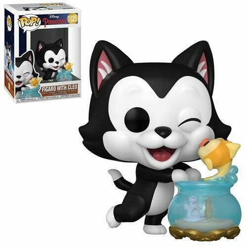 Pinocchio Figaro Kissing Cleo Pop! Vinyl Figure